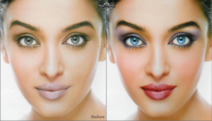 Before & After Editing in PhotoShop