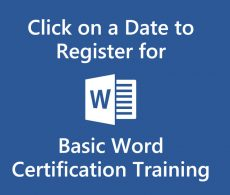 Microsoft Word Training at Intellisoft
