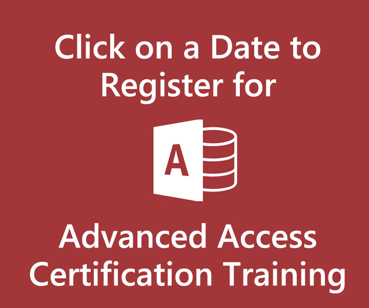 Advanced Access Training in Singapore