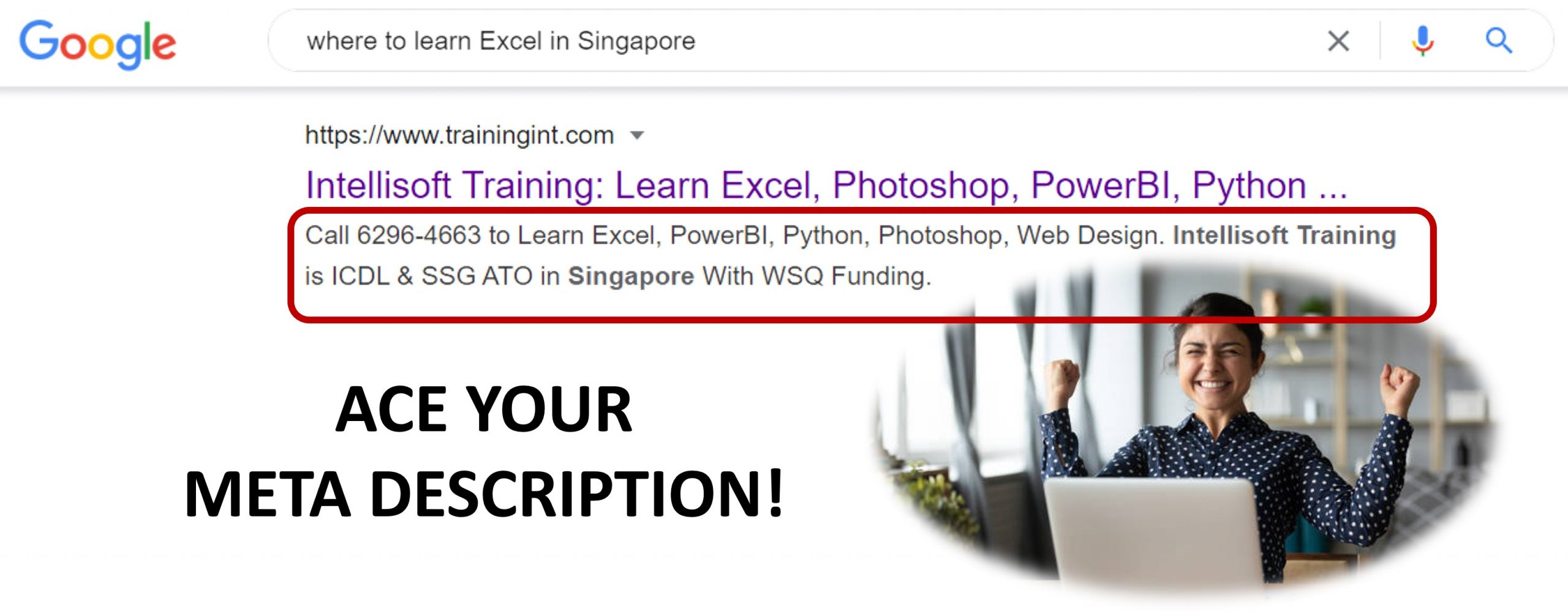 Learn What to Write in Meta Description for Better SEO at Intellisoft Singapore