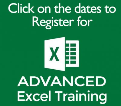 Register for Advanced Exel