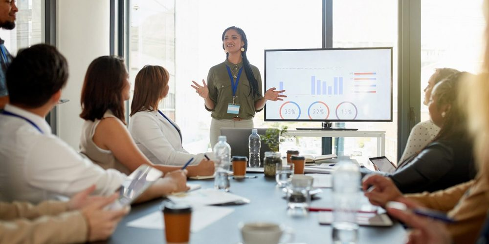 Learn how to Present at a meeting