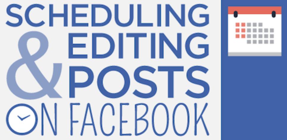 Schedule Posts in Facebook Training