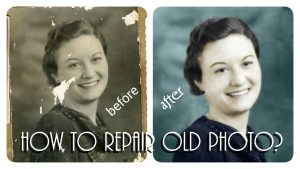 How to Restore Old Photos Using Photoshop