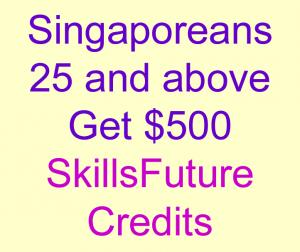 SkillsFuture Credits for Singaporeans