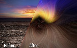 Learn to Use Twirl Effect in Photoshop
