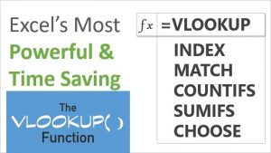 Lookup Functions in Excel